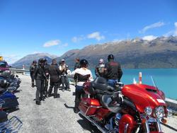 harley tours new zealand